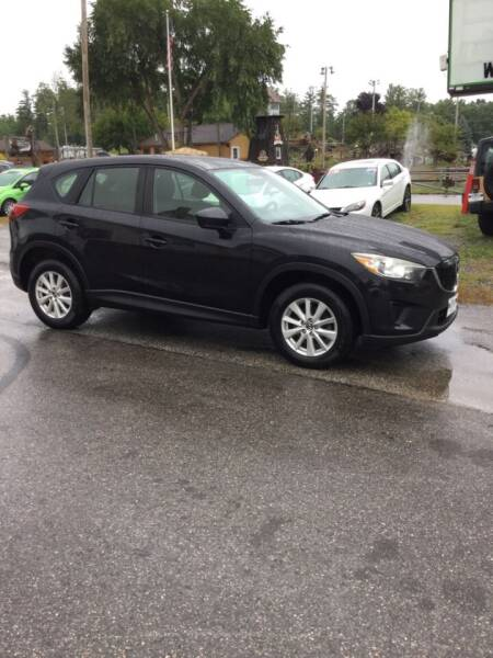 2013 Mazda CX-5 for sale at Giguere Auto Wholesalers in Tilton NH
