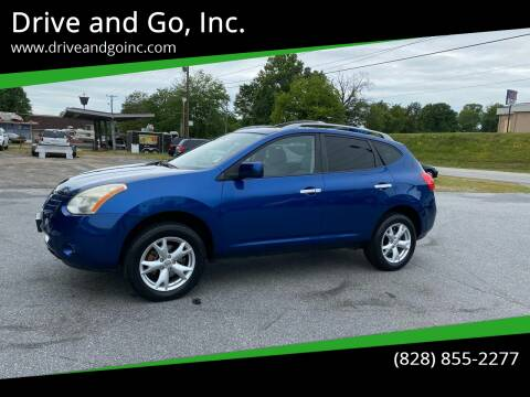 2010 Nissan Rogue for sale at Drive and Go, Inc. in Hickory NC