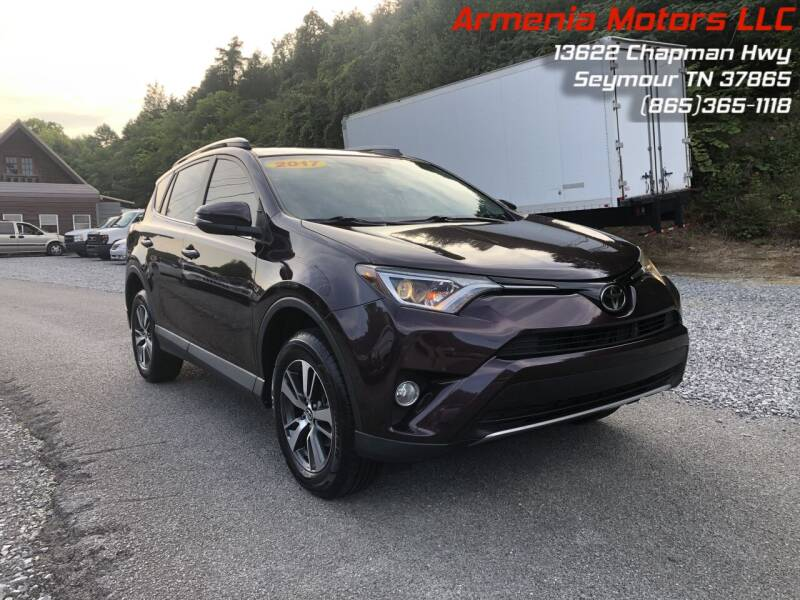 2017 Toyota RAV4 for sale at Armenia Motors in Seymour TN
