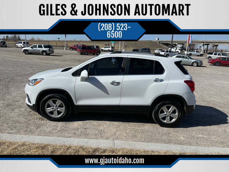 2017 Chevrolet Trax for sale at GILES & JOHNSON AUTOMART in Idaho Falls ID