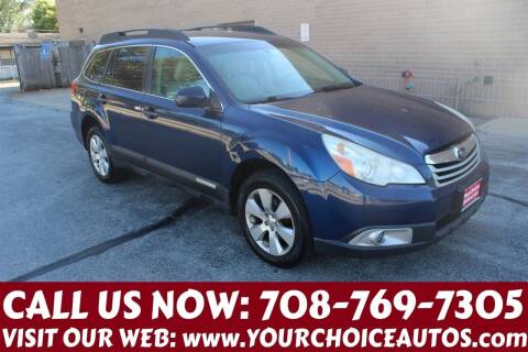 2011 Subaru Outback for sale at Your Choice Autos in Posen IL