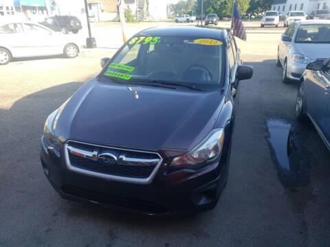 2012 Subaru Impreza for sale at TC Auto Repair and Sales Inc in Abington MA