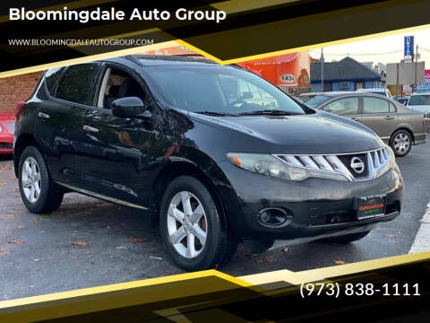 2009 Nissan Murano for sale at Bloomingdale Auto Group - The Car House in Butler NJ