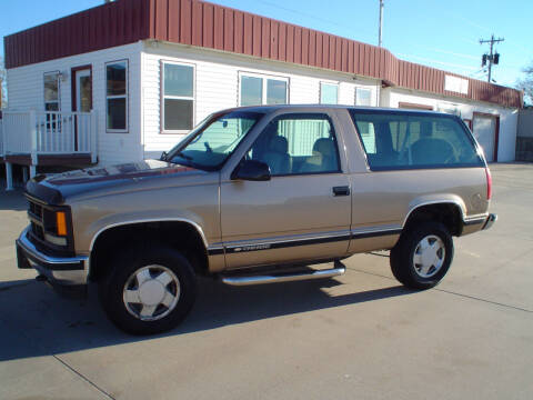 1999 Chevrolet Tahoe for sale at World of Wheels Autoplex in Hays KS
