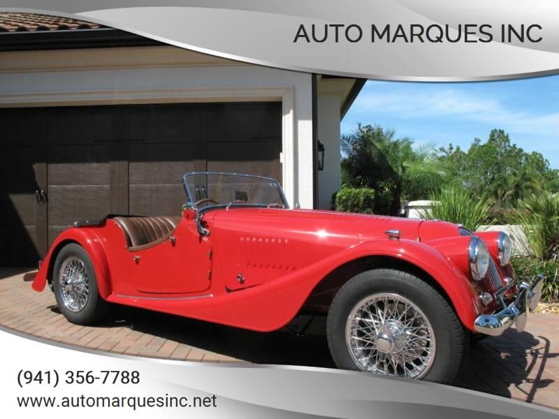 1966 Morgan 4/4 GT  series V for sale at Auto Marques Inc in Sarasota FL