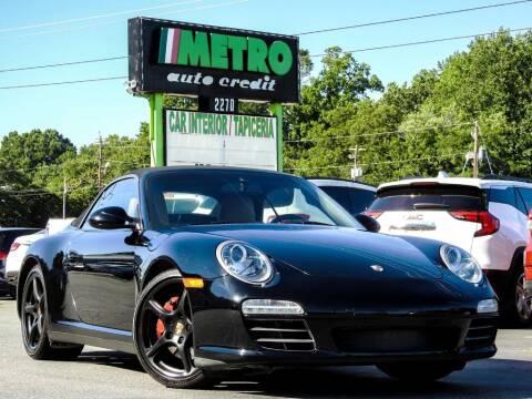 2009 Porsche 911 for sale at Metro Auto Credit in Smyrna GA