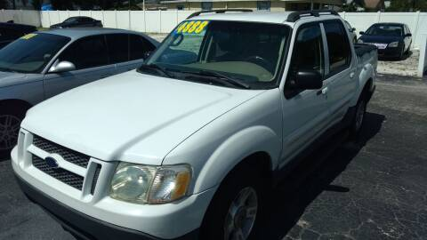 2004 Ford Explorer Sport Trac for sale at AFFORDABLE AUTO SALES in We Finance Everyone! FL