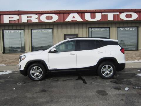 2019 GMC Terrain for sale at Pro Auto Sales in Carroll IA