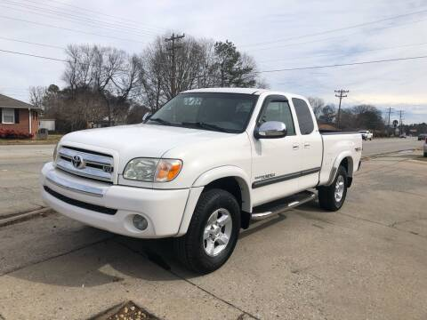 2005 Toyota Tundra for sale at E Motors LLC in Anderson SC