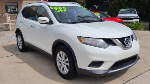 2016 Nissan Rogue for sale at Dunn-Rite Auto Group in Longwood FL