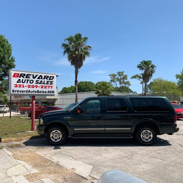 2003 Ford Excursion for sale at Brevard Auto Sales in Palm Bay FL