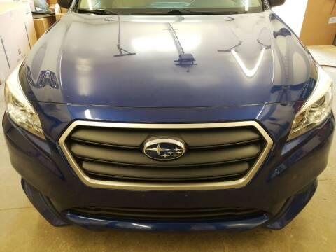 2016 Subaru Legacy for sale at MARVIN'S AUTO BODY in Farmington ME
