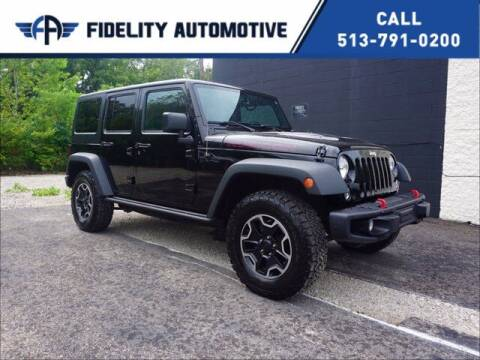 2016 Jeep Wrangler Unlimited for sale at Fidelity Automotive LLC in Cincinnati OH