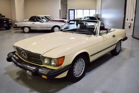 1987 Mercedes-Benz 560-Class for sale at Motorgroup LLC in Scottsdale AZ