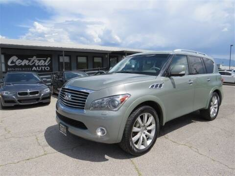 2012 Infiniti QX56 for sale at Central Auto in South Salt Lake UT
