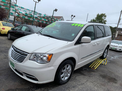 2012 Chrysler Town and Country for sale at Barnes Auto Group in Chicago IL