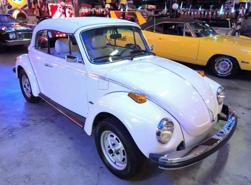 1979 Volkswagen Beetle Convertible for sale at MILFORD AUTO SALES INC in Hopedale MA