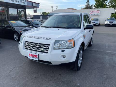 2008 Land Rover LR2 for sale at Adams Auto Sales in Sacramento CA