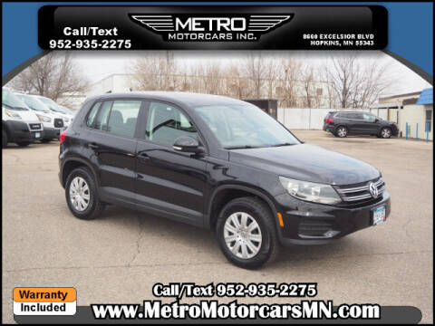 2014 Volkswagen Tiguan for sale at Metro Motorcars Inc in Hopkins MN