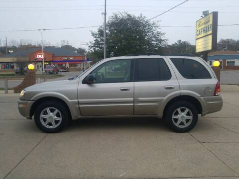 2002 Oldsmobile Bravada for sale at RIVERSIDE AUTO SALES in Sioux City IA