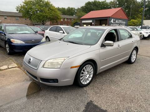 2008 Mercury Milan for sale at 4th Street Auto in Louisville KY