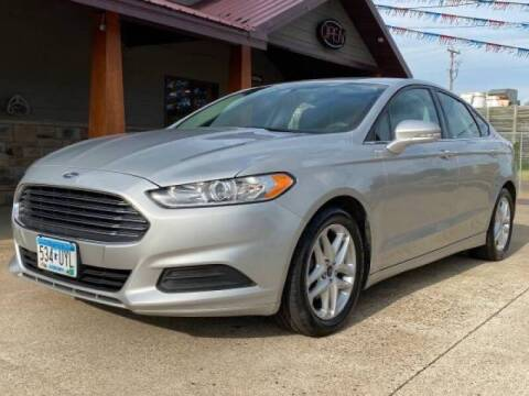 2016 Ford Fusion for sale at Affordable Auto Sales in Cambridge MN