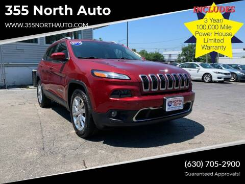 2015 Jeep Cherokee for sale at 355 North Auto in Lombard IL
