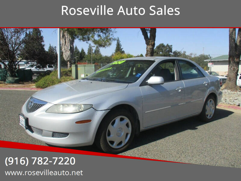 2004 Mazda MAZDA6 for sale at Roseville Auto Sales in Roseville CA