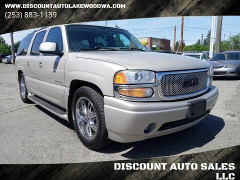 2005 GMC Yukon XL for sale at DISCOUNT AUTO SALES LLC in Lakewood WA