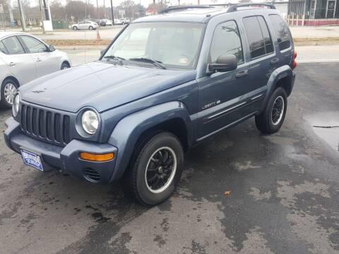 2002 Jeep Liberty for sale at Premier Auto Sales Inc. in Newport News VA