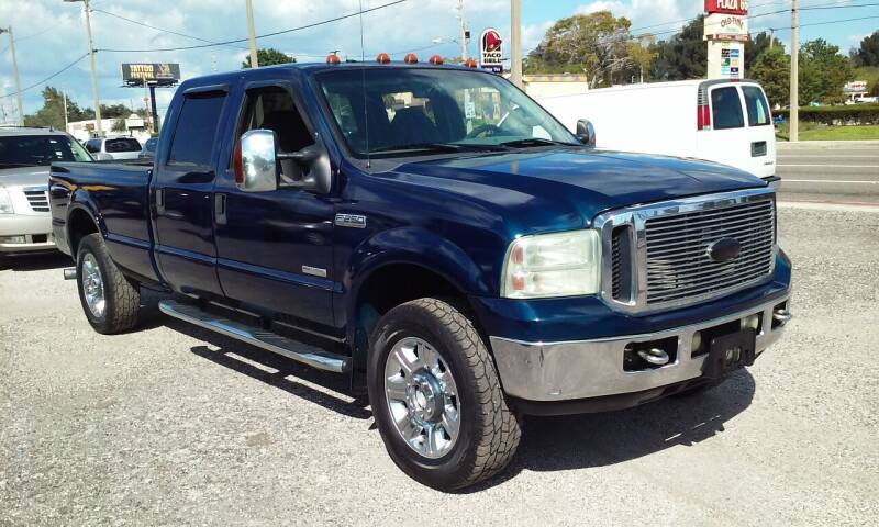 2006 Ford F-250 Super Duty for sale at Pinellas Auto Brokers in Saint Petersburg FL