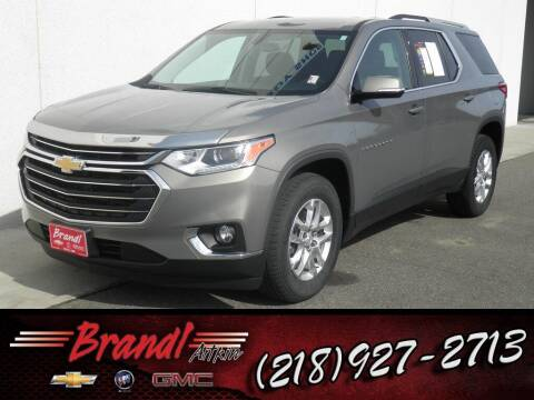 2018 Chevrolet Traverse for sale at Brandl GM in Aitkin MN
