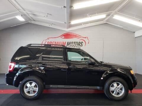 2010 Ford Escape for sale at Premium Motors in Villa Park IL