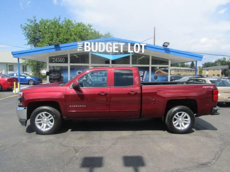2016 Chevrolet Silverado 1500 for sale at THE BUDGET LOT in Detroit MI