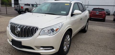 2014 Buick Enclave for sale at Advantage Auto Sales & Imports Inc in Loves Park IL