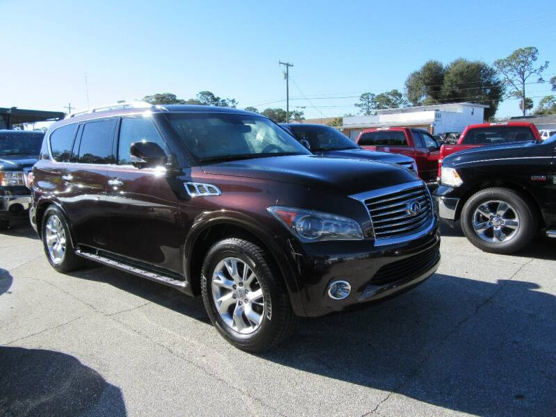 2012 Infiniti QX56 for sale at ARENA AUTO SALES,  INC. in Holly Hill FL