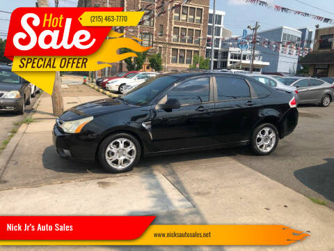 2008 Ford Focus for sale at Nick Jr's Auto Sales in Philadelphia PA