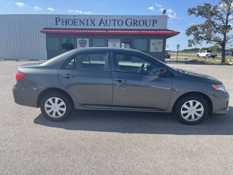 2011 Toyota Corolla for sale at PHOENIX AUTO GROUP in Belton TX