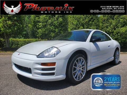 2000 Mitsubishi Eclipse for sale at Phoenix Motors Inc in Raleigh NC