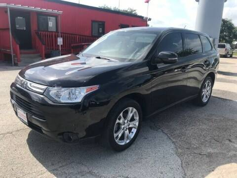 2014 Mitsubishi Outlander for sale at Talisman Motor City in Houston TX