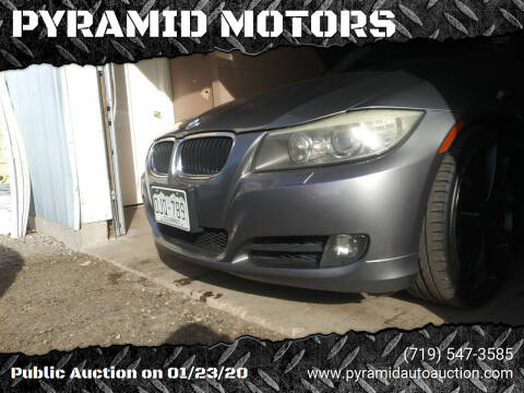2010 BMW 3 Series for sale at PYRAMID MOTORS - Pueblo Lot in Pueblo CO