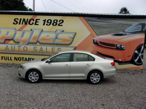 2011 Volkswagen Jetta for sale at Pyles Auto Sales in Kittanning PA