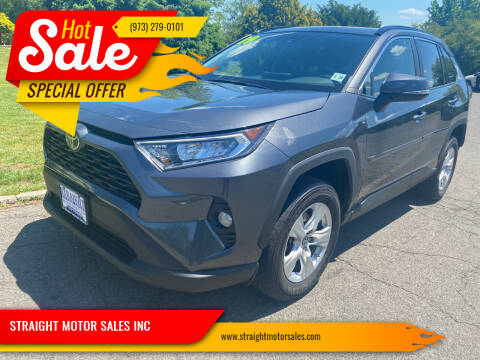 2019 Toyota RAV4 for sale at STRAIGHT MOTOR SALES INC in Paterson NJ
