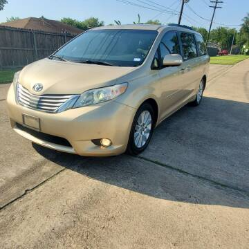 2013 Toyota Sienna for sale at MOTORSPORTS IMPORTS in Houston TX