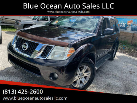 2011 Nissan Pathfinder for sale at Blue Ocean Auto Sales LLC in Tampa FL