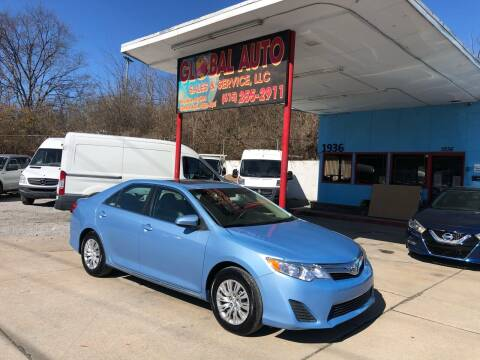 2012 Toyota Camry for sale at Global Auto Sales and Service in Nashville TN