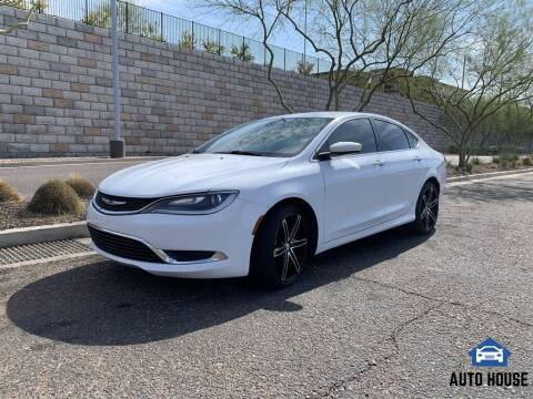 2015 Chrysler 200 for sale at AUTO HOUSE TEMPE in Tempe AZ