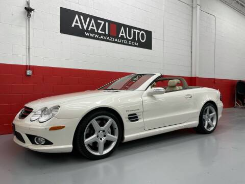 2007 Mercedes-Benz SL-Class for sale at AVAZI AUTO GROUP LLC in Gaithersburg MD