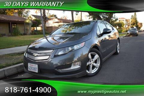 2013 Chevrolet Volt for sale at Prestige Auto Sports Inc in North Hollywood CA