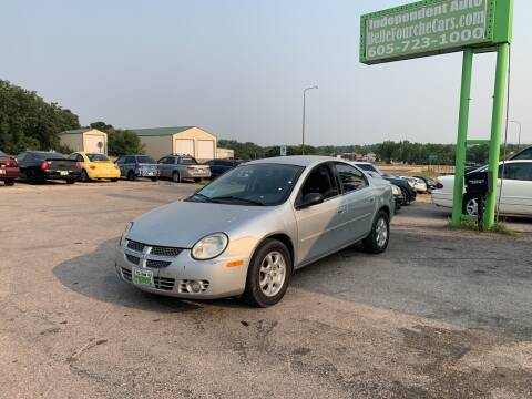 2005 Dodge Neon for sale at Independent Auto in Belle Fourche SD